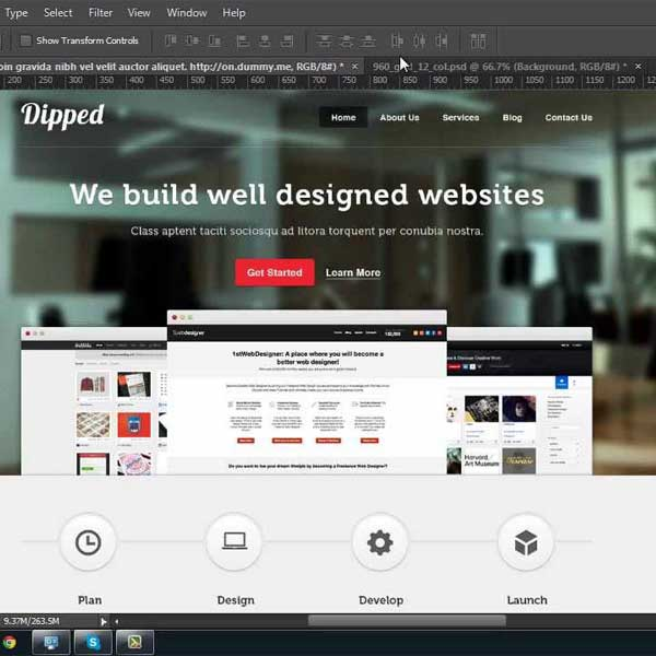 Custom designed website Ottawa