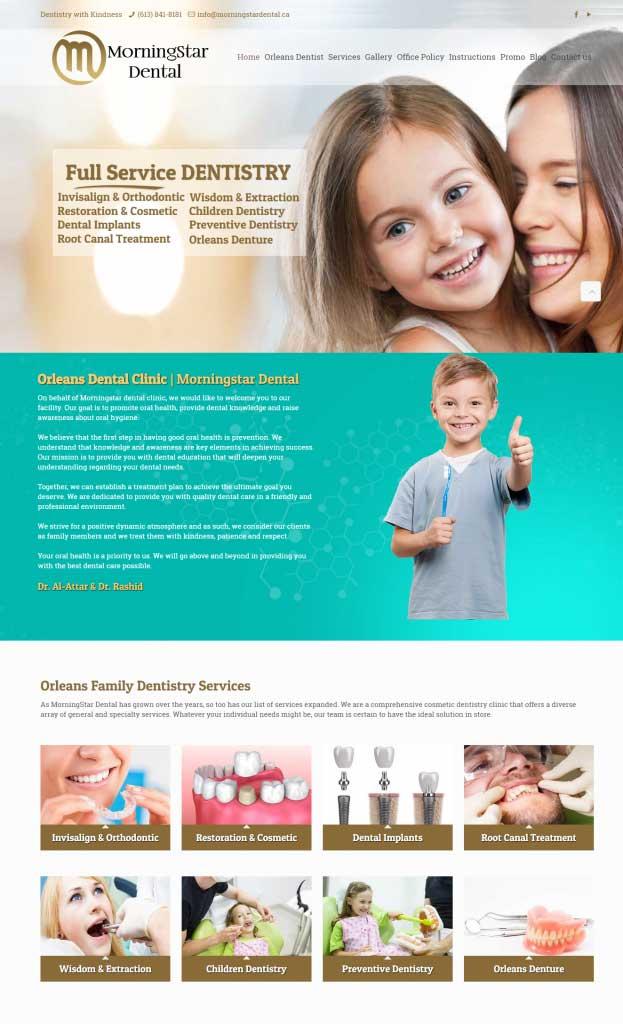 custom web design in Ottawa ON